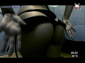 Andrea showing her ass in thong